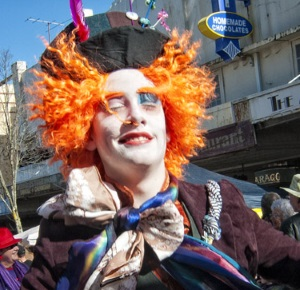 Photo of clown courtesy of Jackie Delaney